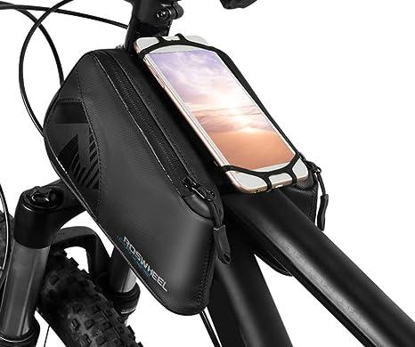 Bolso Del Cuadro De La Bicicleta, 6.0 Pulgadas Impermeable ...