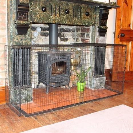 Width 214cm Safetots Original Fireguard with Extension