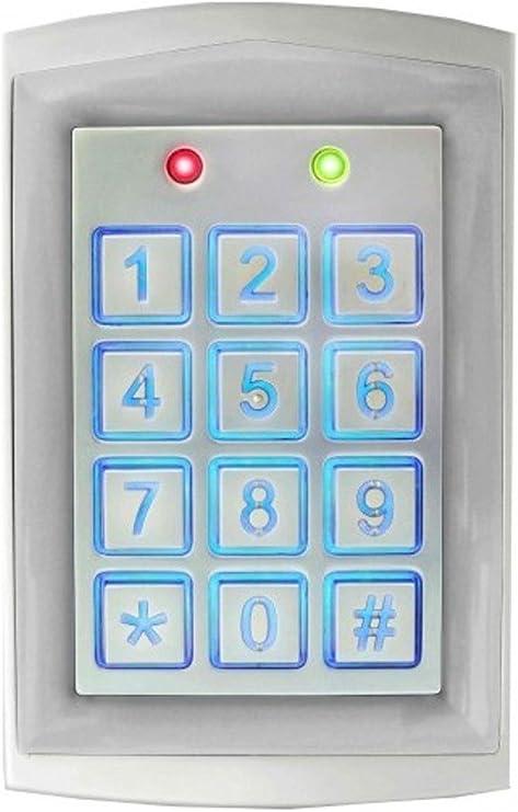 SK-1323-SPQ Seco-Larm Enforcer Sealed Weatherproof Stand-Alone Keypad