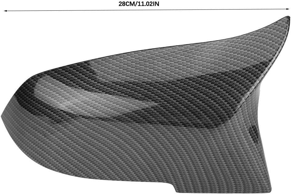 1 paire Capuchon de r/étroviseur Compatible avec BMW 220i 328i 420i F20 F21 F22 F30 F32 F33 F36 X1 E84 Cache-r/étroviseur