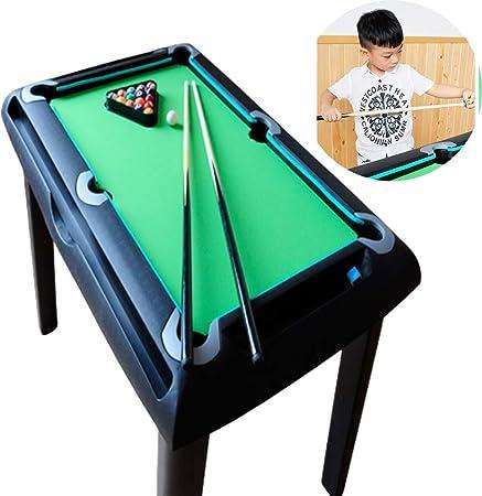 AFF Mini Tabletop Ball Billiards Kids Home Juego de Billar Snooker Tables Pool Table Game Pool Cue Stick Stick Balls Juego de Juguete para niños: Amazon.es: Hogar