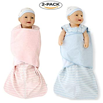 on sale d5b55 40086 Amazon.com : Baby Adjustable Swaddle Wrap Sack Blanket with ...