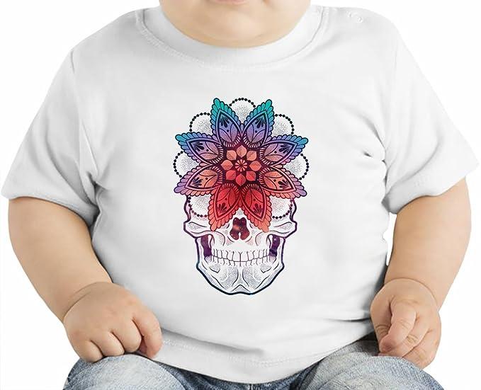 Sugar Skull Camiseta orgánica bebés 12 - 18 Months