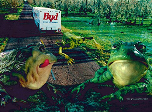 Budweiser Bud Frogs II Unframed Limited Edition Lithocel from Unknown
