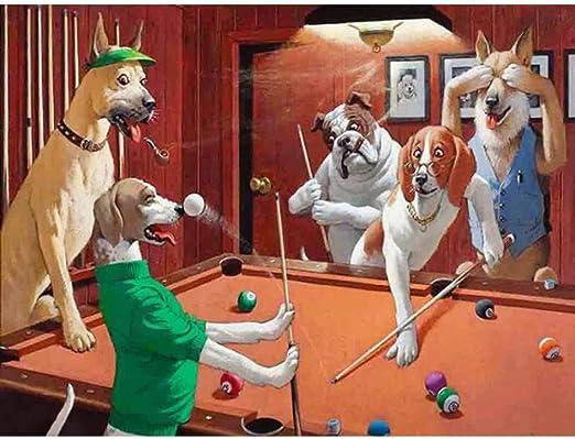Pintura de diamante Cuadrado completo/Diamante redondo Perro ...