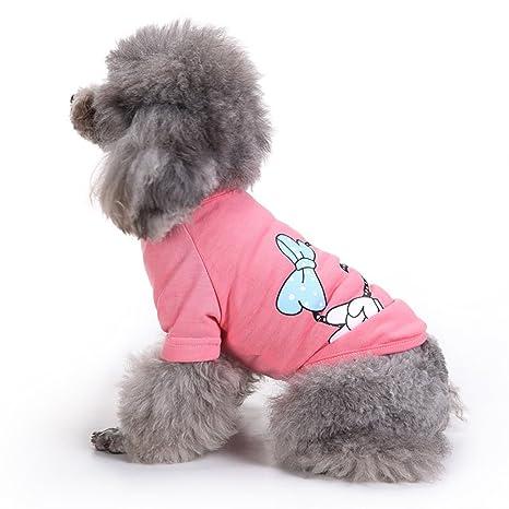 Chaleco para mascotas, abrigo de punto Mascota Ropa para perros pequeños Camiseta Protector de pecho