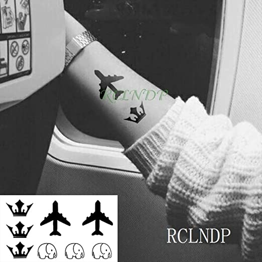 tzxdbh 7Pcs-Pegatina para Tatuajes a Prueba de Agua Tribal Totem ...