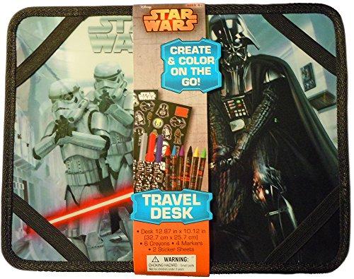 LucasFilm Star Wars Portable Travel Desk Art Set ()