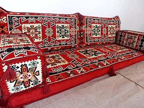 Arabic jalsa arabic majlis hookah bar for Floor couch amazon