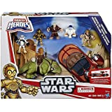 Galactic Heroes Star Wars Landspeeder Adventure Pack