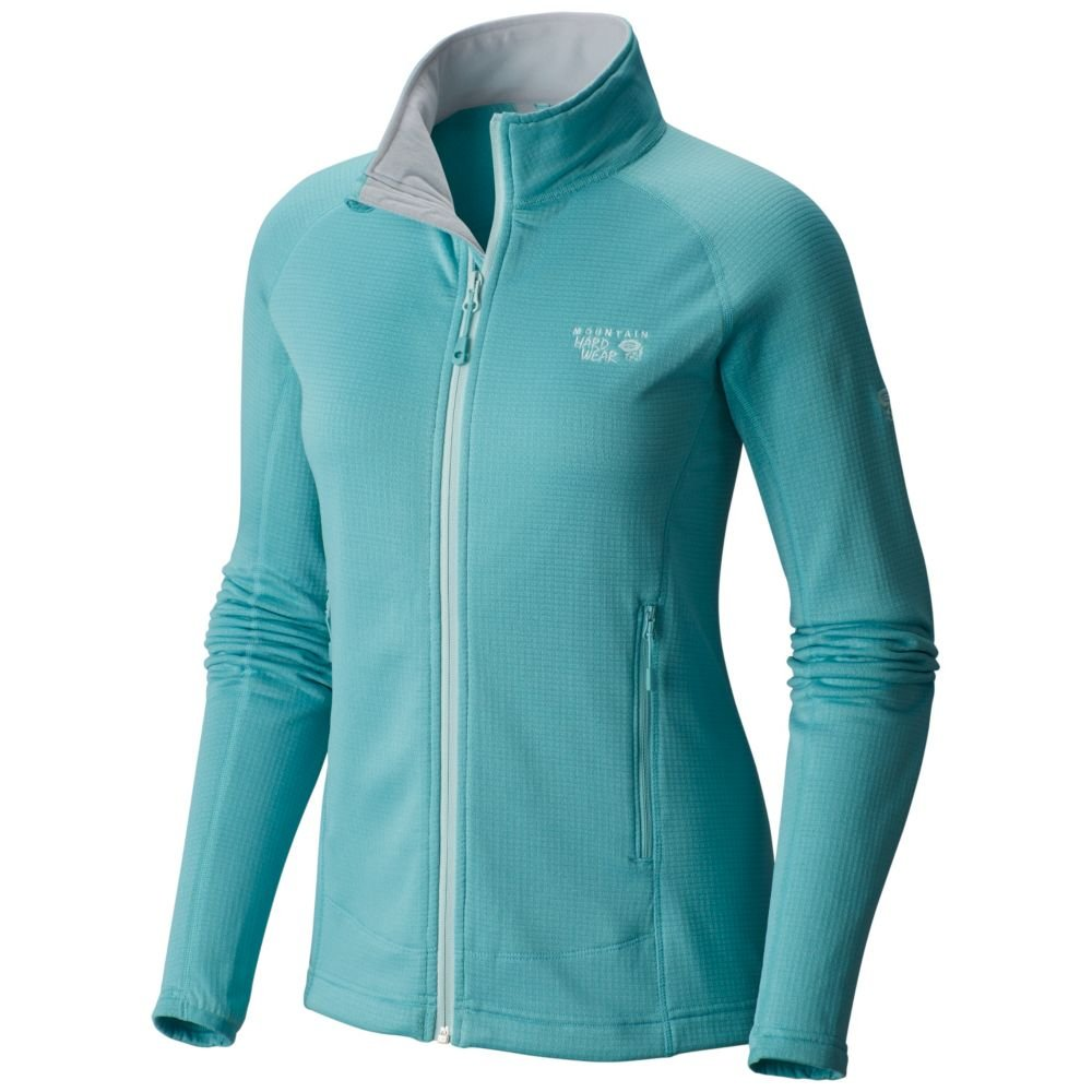 Mountain Hardwear Women's Desna Grid Jacket, Spruce Blue, M