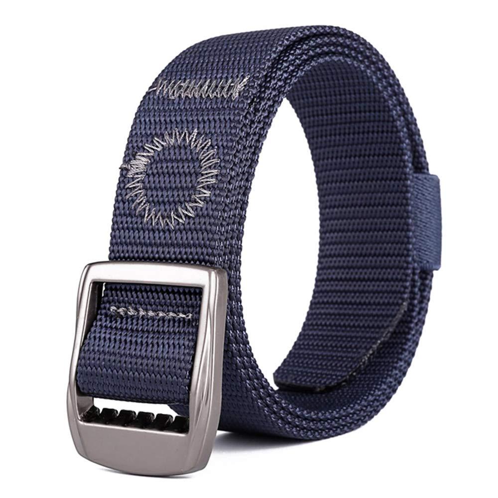DAZISEN Unisex Nylon Belt Canvas Outdoor Hiking Webbing Tactical Waist Belt