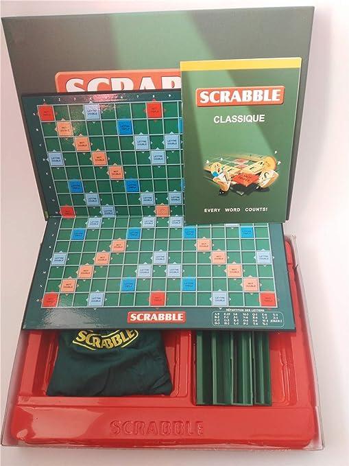 AOTE-D Scrabble Juegos De Mesa De Aprendizaje: Amazon.es: Deportes ...