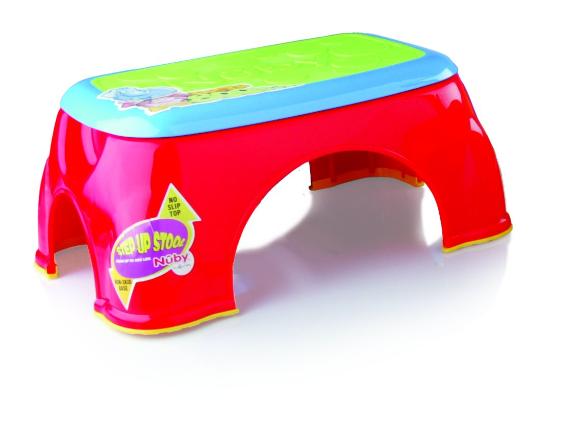 Nuby Step Up Stool, Colors May Vary
