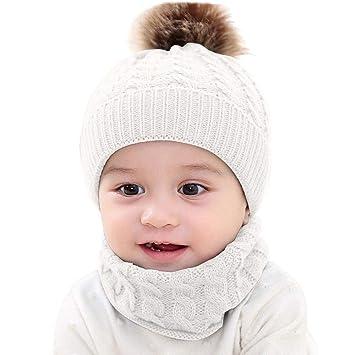 0aa3a9d81001b Amazon | (プタス)Putars 子供用 帽子 ニット帽 女の子 男の子 耳あて ...