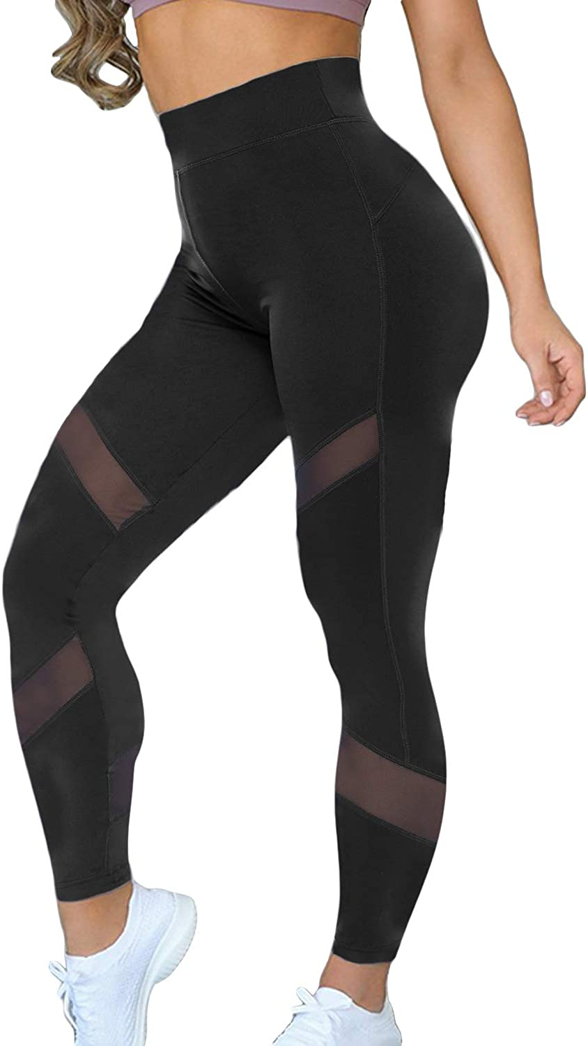 Kiwi Rata Women Sports Mesh Trouser Gym Workout Fitness Capris Yoga Pant Legging At Amazon Women S Clothing Store