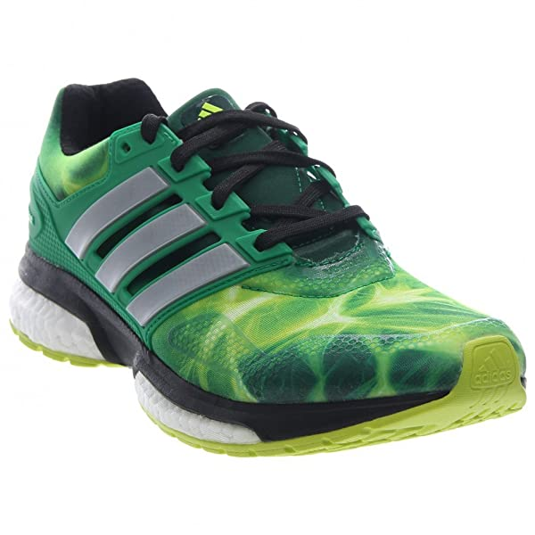 official site shades of competitive price Response Boost TF Limited Mens Running Shoe Solar Yellow-White-Green