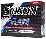 Srixon Ad333 Tour - Standard Golf Balls (Composite) Color: White Size: Unique