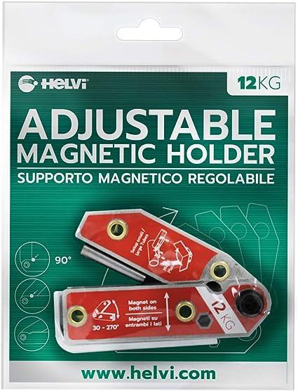color rojo 22 kg Soporte magn/ético para soldadura Helvi 21905123