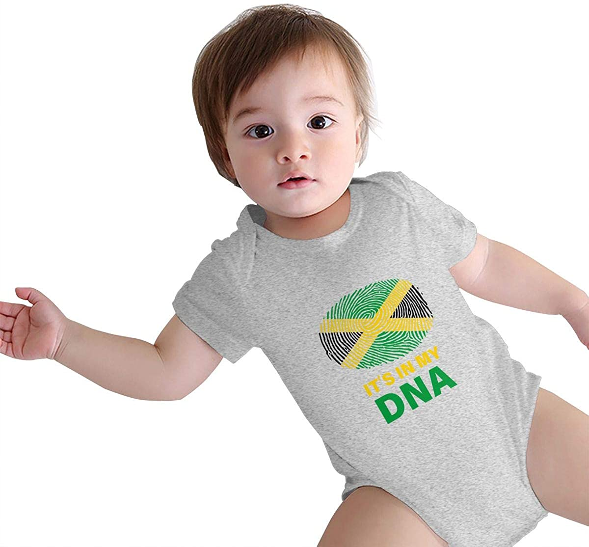 YuanHu Baby Bodysuit Jamaican Its in My DNA One-Piece Infant Climbing Clothes Jumpsuit