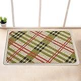 Garden door mat bathroom mat skid-proof mats in the Hall -40*60cm y
