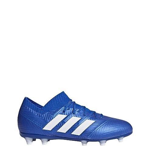 43dcc55f38df adidas Kids Nemeziz 18.1 Firm Ground Soccer Cleats: Amazon.co.uk: Shoes &  Bags