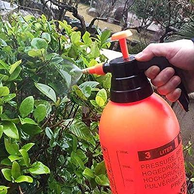 PTOBBA 0.8L / 1.5L / 2L / 3L presión Atomizador Botella Ajustable de Cobre de la Boquilla del Cabezal de compresión de Aire Manual de la Bomba de pulverización Herramienta para el