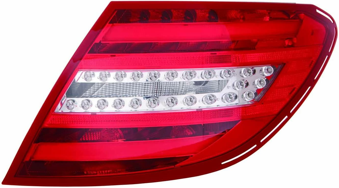 NEW GENUINE MERCEDES MB C W204 12-14 RIGHT O//S TAIL LIGHT BULB LAMP SUPPORT