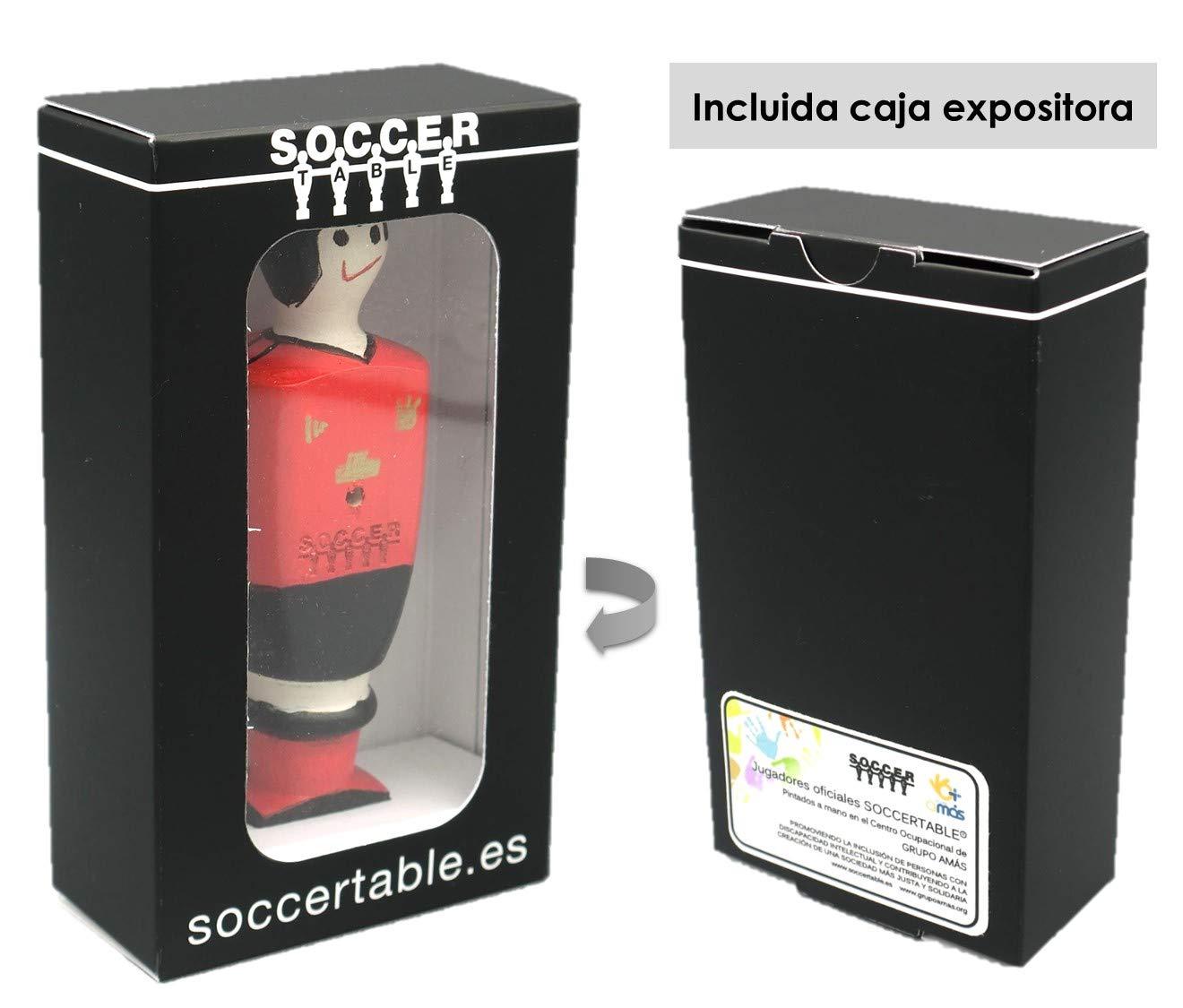 Soccer Table SL- Individual Jugador de Futbolín Manchester con ...