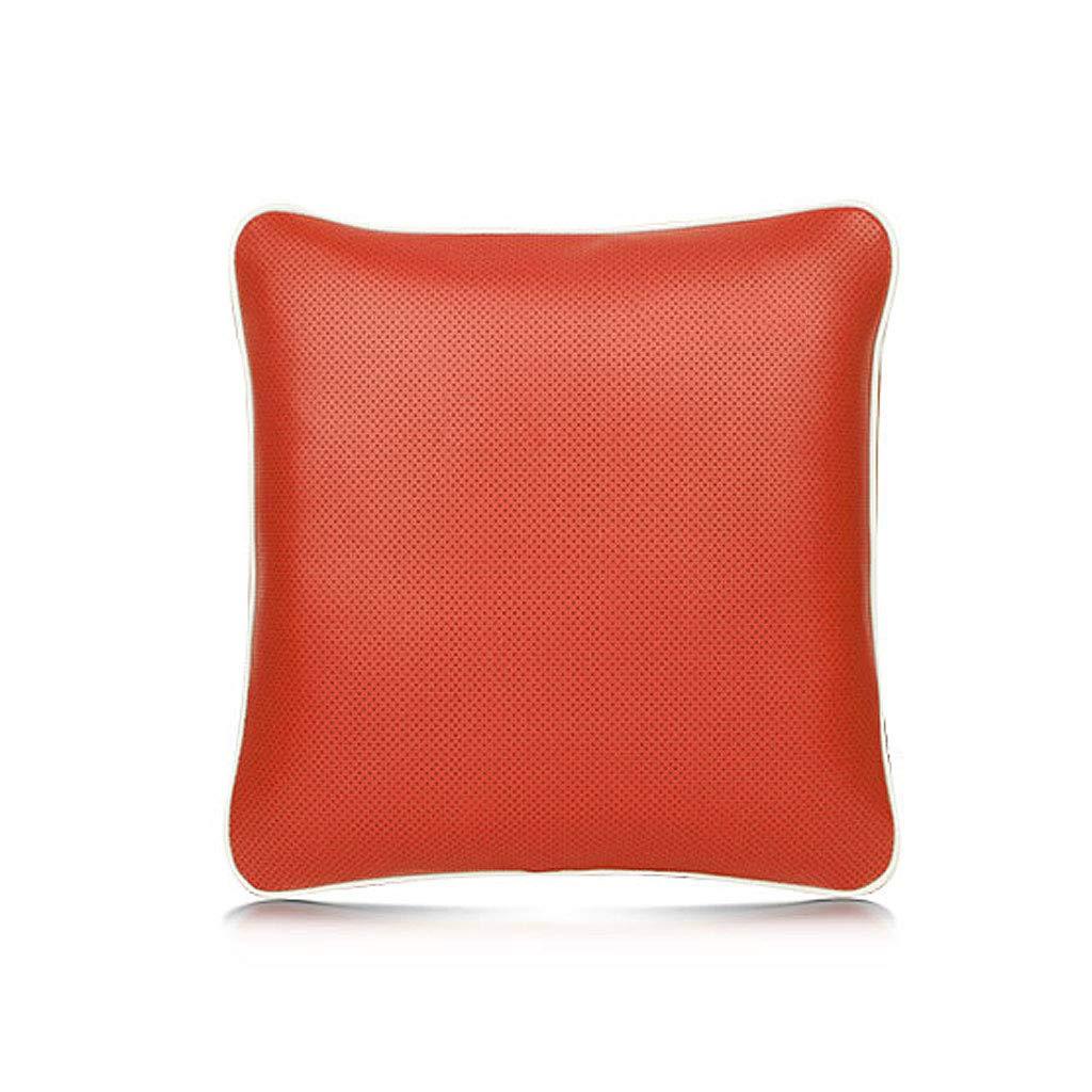 レジャー多機能ソフトウォームブランケットショールピローカーソファのオフィス (色 : Red) B07K43KRBP Red