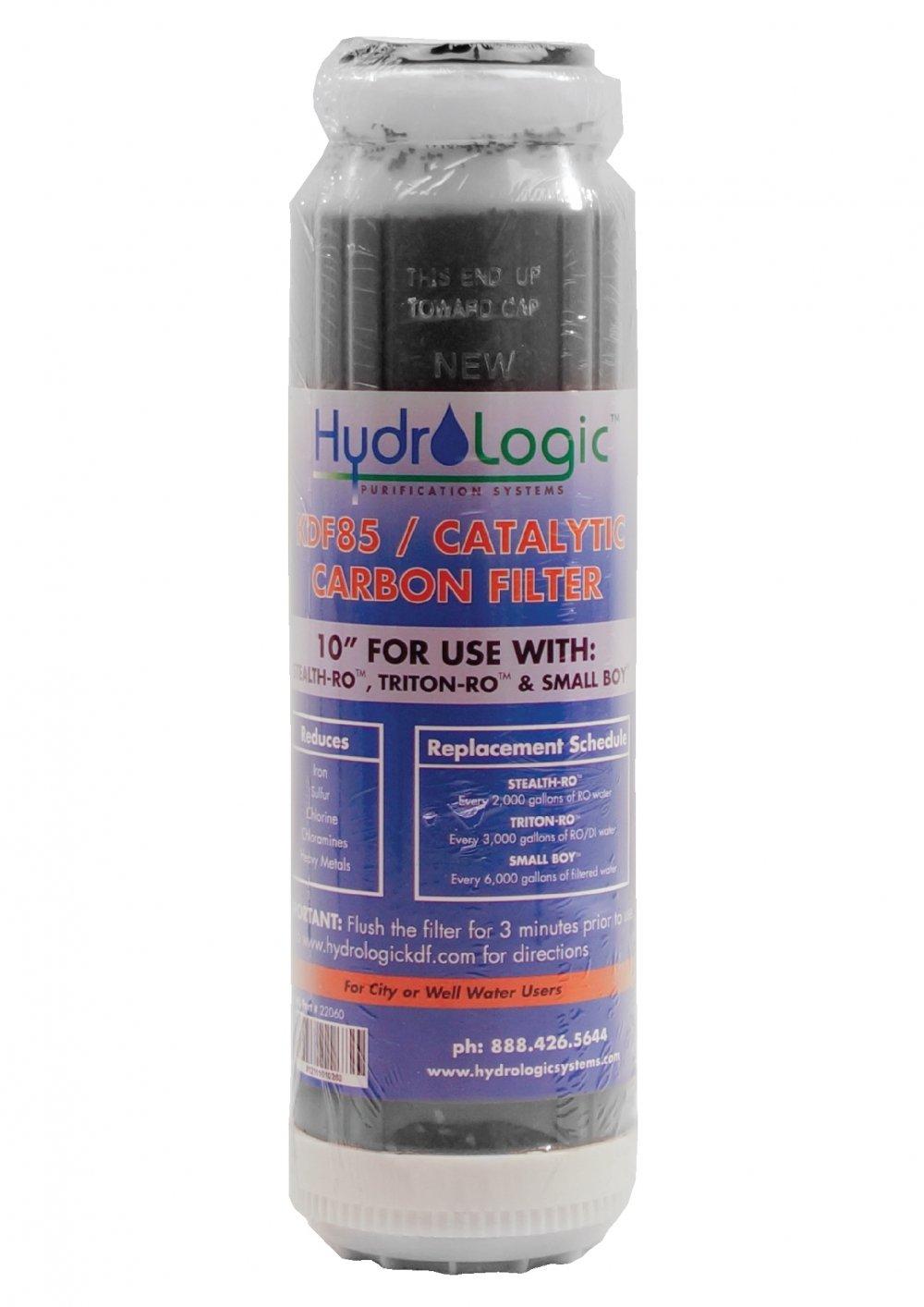 Hydro logic Stealth KDF85 Carbon Filter 728975