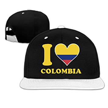 Osmykqe I Love Colombia Gorras de béisbol de Perfil bajo, Gorra ...