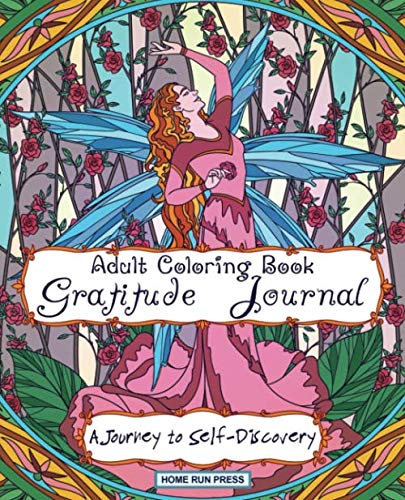 Adult Coloring Book Gratitude Journal: Journal for Women, Self Help Book for Women