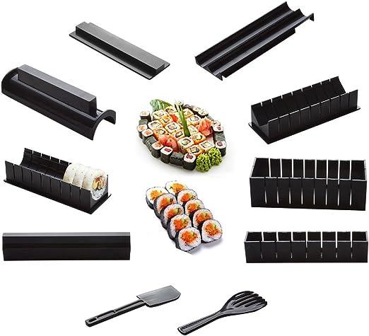 10pcs Pack Kit para hacer sushi, nuevo DIY Fácil Sushi Maker ...