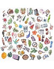 EKKONG Pegatinas, 46 Pack Kit de Pegatinas, Pegatinas Decorativas Stickers para Coche, Infantiles, Portátiles, Moto, Funda de Viaje