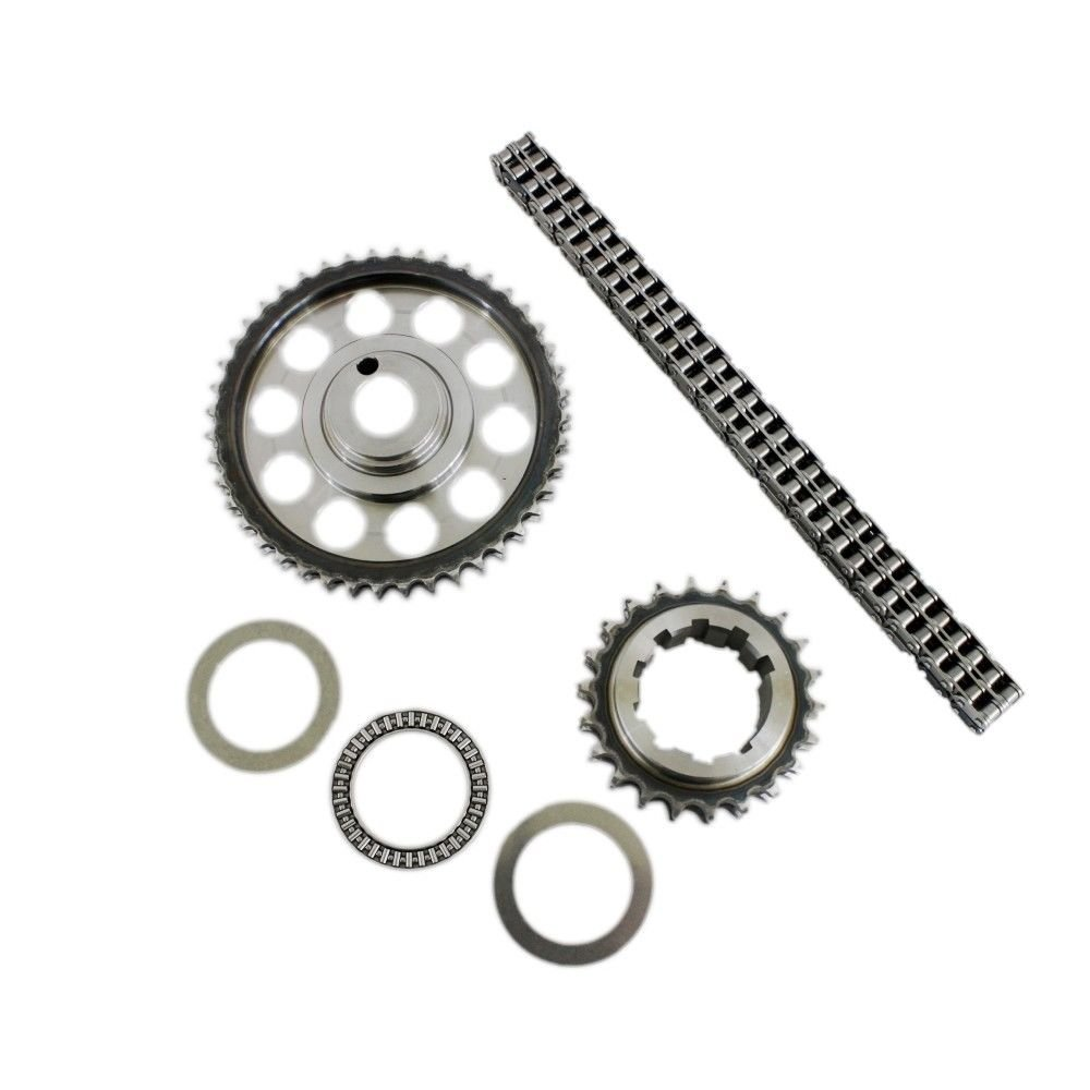 Double Roller 9 Keyway Billet Steel Timing Chain Kit For A 460 Ford Engine 429 Tor Brg Automotive