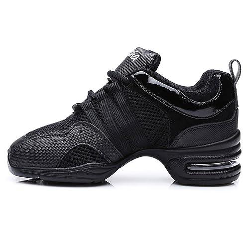 a0919f075e4a9 SWDZM mujeres zapatos de baile moderno hip-hop zapatos de jazz deportivo  zapatillas de deporte zapatos al aire libre ES-B55  Amazon.es  Zapatos y ...