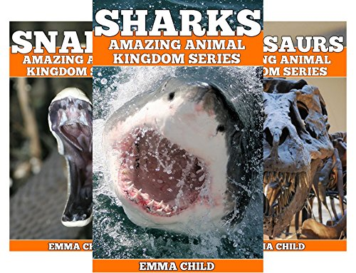 Amazing Animal Kingdom (18 Book Series)