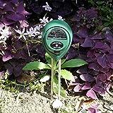 Teekini 3 in1 Garden Plant Flowers Soil PH Tester Moisture Light Meter Testing Tools