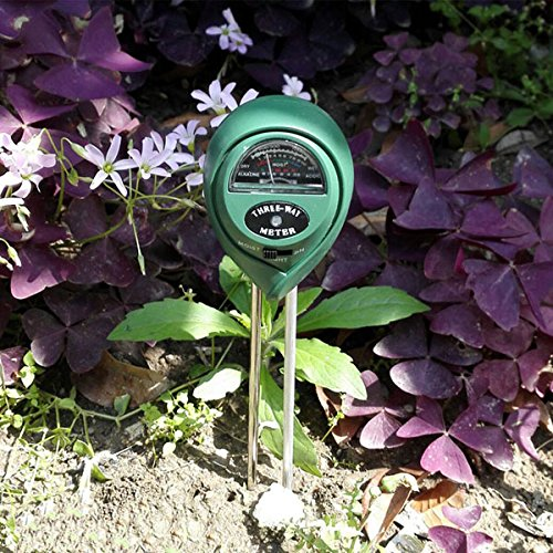 Teekini 3 in1 Garden Plant Flowers Soil PH Tester Moisture Light Meter Testing Tools by Teekini