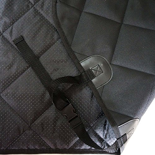 NOBER Pet Cargo Liner Cover for Dogs SUV Cars Waterproof Non Slip Universal Fit 55 X 106 with Bumper Flap Extra Large by NOBER (Image #3)