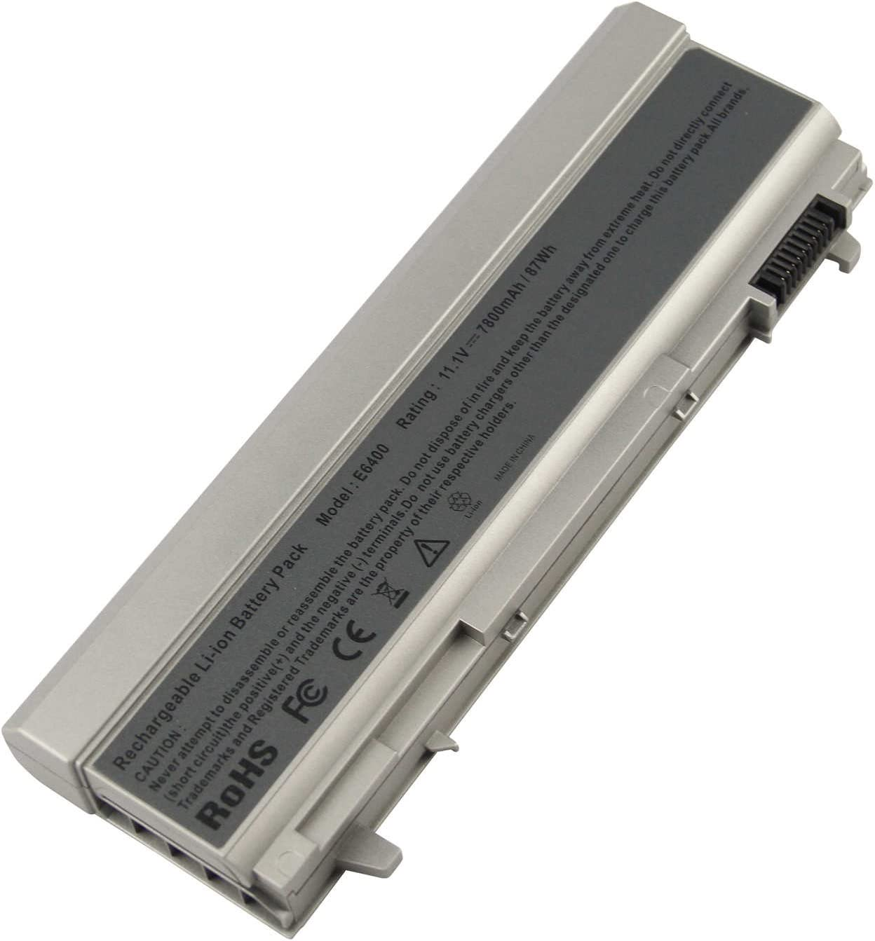 AC Doctor INC Laptop Battery for Dell Latitude E6400 E6500 E6410 E6510,Precision M2400 M4400 M4500,Fits P/N:PT434 PT435 PT436 PT437 KY477 KY265 KY266 KY268,12 Cells,7800mAh