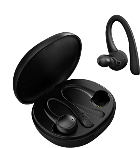 Odfit Wireless Earbuds, True Wireless Bluetooth 5.0 in-Ear Wireless Headphones with Stereo HiFi Sound, 15H Playtime Bluetooth Earphones Built-in Mic, Sports Earbuds Black