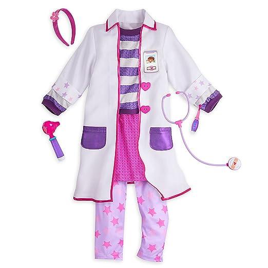 Amazoncom Disney Doc Mcstuffins Costume Set For Kids Clothing