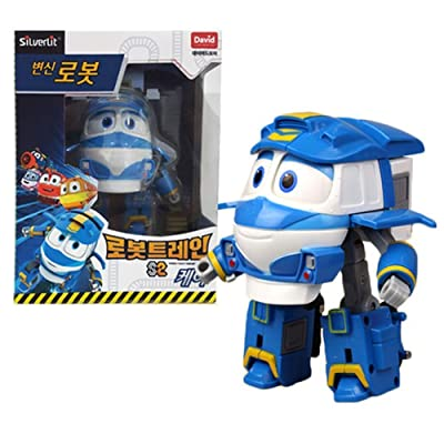 "Robot Train Season 2 Korean Animation Transforming Robot 5"" Kay: Toys & Games"