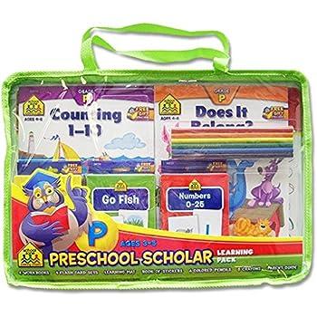 School Zone Preschool Scholar Educational Learning Pack