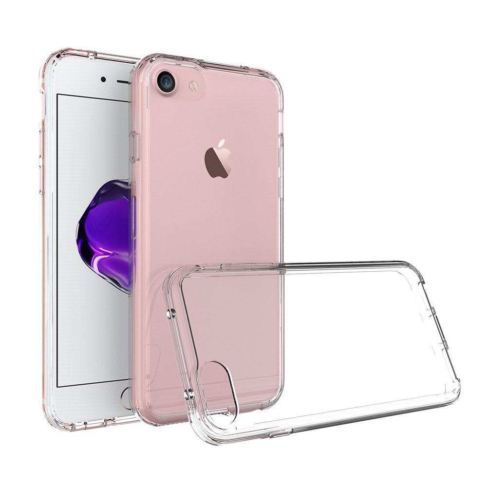 Xiu7 Clear Case for iPhone 7/8 Plus, ultra-slim and lightweight design-Transparent
