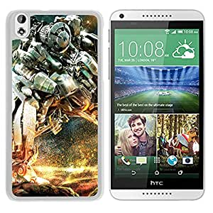 New Beautiful Custom Designed Cover Case For HTC Desire 816 With Transformers Robot War (2) Phone Case
