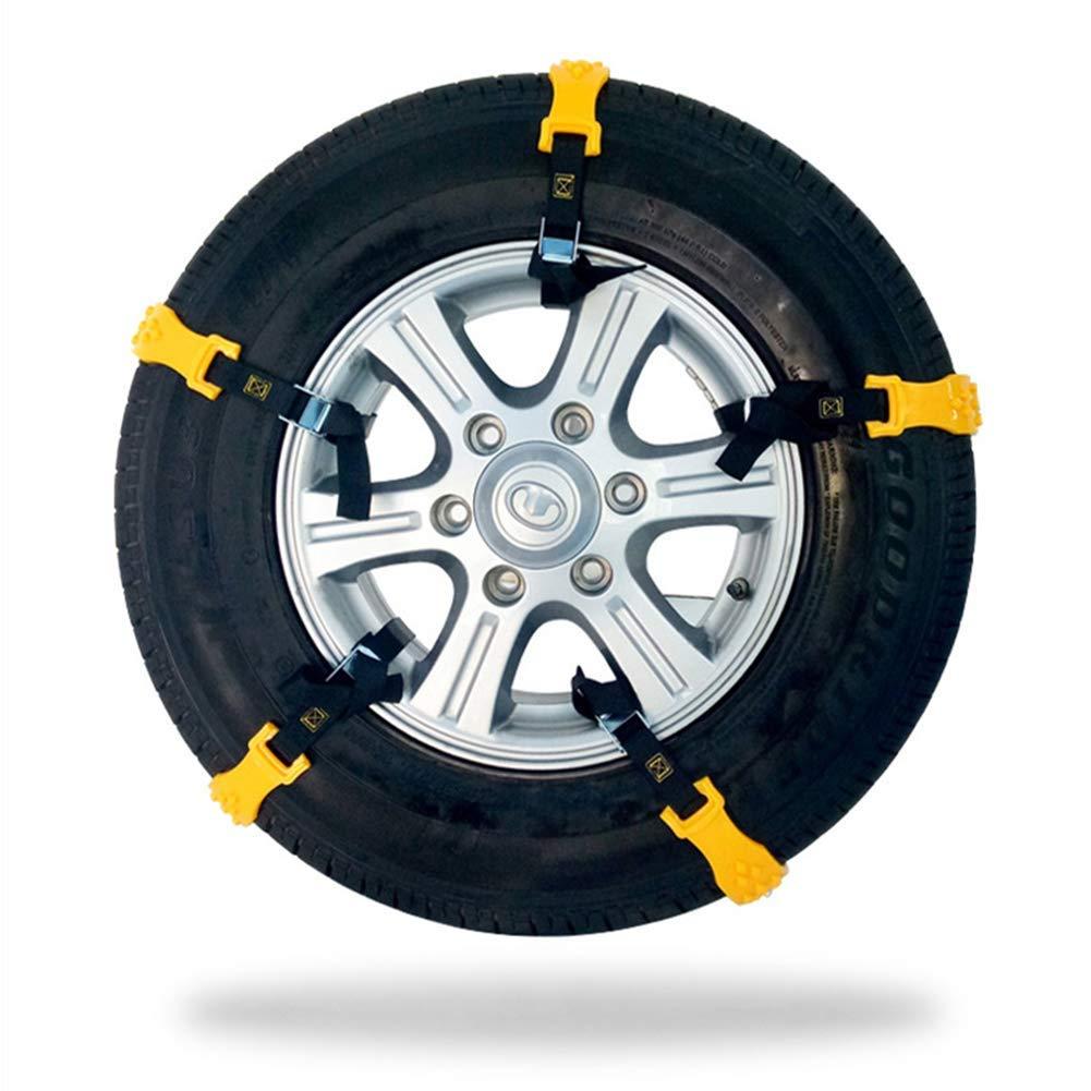 ... Cadena de Nieve ampliada, Cadenas de neumáticos Antideslizantes para tracción de Emergencia, Bridas para Cables de Rueda: Amazon.es: Coche y moto