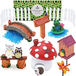Seductive Fairy Garden Furniture Set With Goodlooking Miniature Fairy Garden Supplies And Terrarium Accessories  Piece Starter  Kit Bonus Getting Started Guide  With Charming How To Get Hedgehogs In Your Garden Also Garden Hook In Addition Garden Pebbles For Sale And Garden Art Uk As Well As Panama Garden Additionally Romsey Water Garden Centre From Homeimprovementcentercom With   Goodlooking Fairy Garden Furniture Set With Charming Miniature Fairy Garden Supplies And Terrarium Accessories  Piece Starter  Kit Bonus Getting Started Guide  And Seductive How To Get Hedgehogs In Your Garden Also Garden Hook In Addition Garden Pebbles For Sale From Homeimprovementcentercom